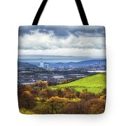 Swansea And Mumbles Tote Bag