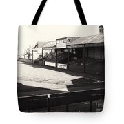 Swansea - Vetch Field - North Bank 1 - Bw - 1960s Tote Bag