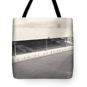 Swansea - Vetch Field - South Stand 1 - Bw - 1960s Tote Bag