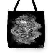Swarm / Black And White  Tote Bag