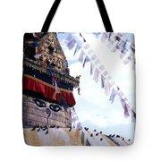 Swayambhunath II Tote Bag