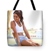 Sweat With Kayla Recipes Tote Bag