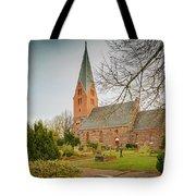 Swedish Brick Church Tote Bag