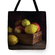 Sweet And Sour Fruits Still Life Tote Bag