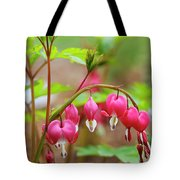 Sweet Bleeding Heart Tote Bag