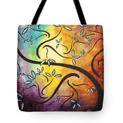 Sweet Blossom By Madart Tote Bag