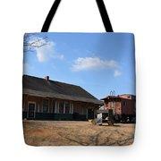 Sweet Briar Train Station Tote Bag