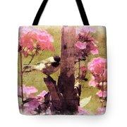 Sweet Chickadee Tote Bag