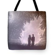 Sweet Couple Tote Bag