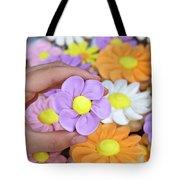 Sweet Floral Array Tote Bag