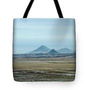 Sweet Grass Hills Pyramids Tote Bag