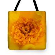 Sweet Heart Of Yellow Rose Tote Bag