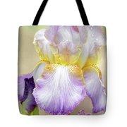 Sweet Iris Pastel Tote Bag