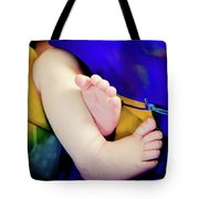 Sweet Little Baby Feet Tote Bag