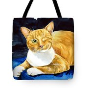 Sweet Melon - Ginger Tabby Cat Painting Tote Bag
