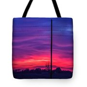 Sweet Nebraska Sunset 004 Tote Bag