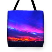 Sweet Nebraska Sunset 001 Tote Bag
