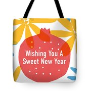 Sweet New Year Card- Art By Linda Woods Tote Bag