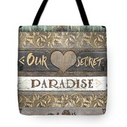 Sweet Paradise Series Tote Bag
