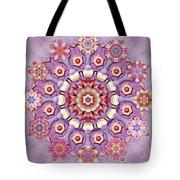 Sweet Pea Iris Frivolity Tote Bag