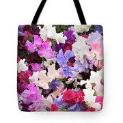 Sweet Pea Spencer Flowers Tote Bag