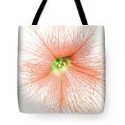 Sweet Peachy Petunia Tote Bag
