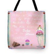 Sweet Philosophy  Tote Bag