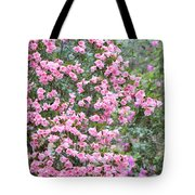 Sweet Pink Southern Azaleas Tote Bag
