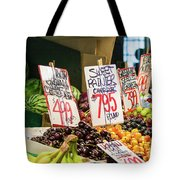 Sweet Rainier Cherries Tote Bag