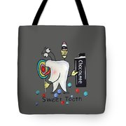 Sweet Tooth T-shirt Tote Bag