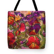 Sweet Viola Tote Bag