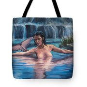Sweet Water Mermaid Tote Bag
