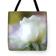 Sweet White Rose Tote Bag