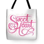 Sweetheart Tote Bag by Cindy Garber Iverson