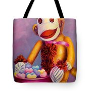 Sweetheart Made Of Sockies Tote Bag