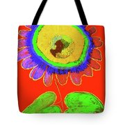 A Fanciful Flower Tote Bag
