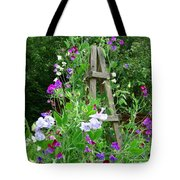 Sweetpea Tote Bag