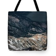 Sweetwater Mountains On California Nevada Border Aerial Photo Tote Bag