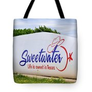 Sweetwater Sign  Tote Bag