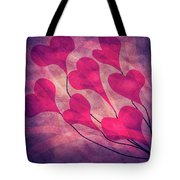 Swept Away In Your Love Romantic Textures Tote Bag