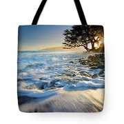 Swept Out To Sea Tote Bag
