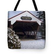 Swift River Bridge Conway New Hampshire Tote Bag