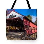 Swift River Bridge Tote Bag