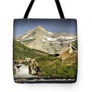 Swiftcurrent Falls Glacier Park 1 Tote Bag