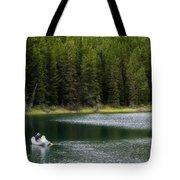 Swiftcurrent Lake Many Glacier Montana Tote Bag