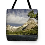 Swiftcurrent Lake Tote Bag