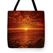 Swiftly Flow The Days Tote Bag