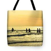 Swim Time Tote Bag