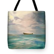 Swimming For The Unattainable Tote Bag