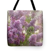 Swimming In A Sea Of Lilacs Tote Bag
